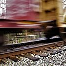 Train Just Missed Me Or I Just Missed The Train By Cara Schingeck by Cara Schingeck