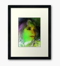 Becoming Elphaba Framed Print