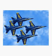 blue angels Photographic Print