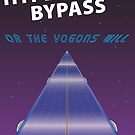 Hypserspace Bypass TRAVEL POSTER by Rechenmacher