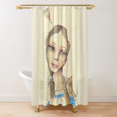 Sweet Dorothy Shower Curtain