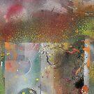 Discarded Art.. orange mood by linmarie