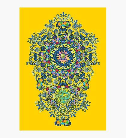 Yellow Porcelain Photographic Print