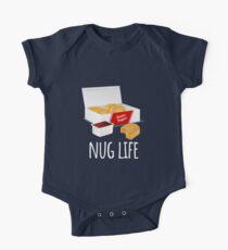 Nug Life - Chicken Nuggets Short Sleeve Baby One-Piece