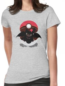 How To Catch Your Dragon Womens Fitted T-Shirt