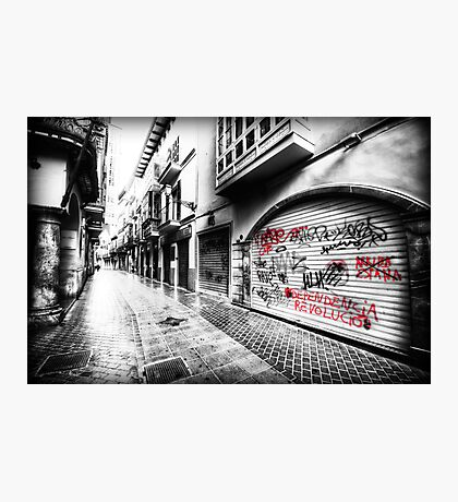 Old Town Palma Streets Photographic Print