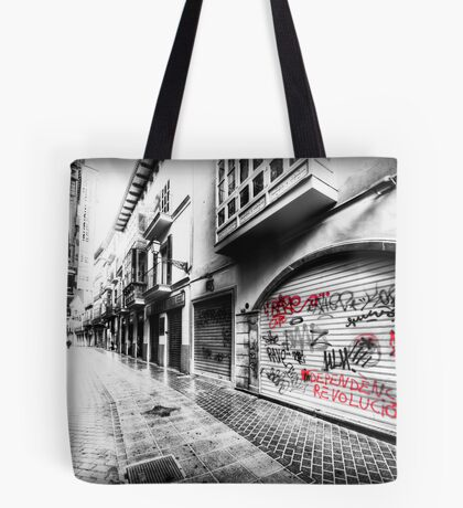Old Town Palma Streets Tote Bag