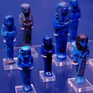 Lapis Lazuli Figurines by Rebecca Eldridge