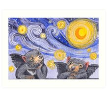 Devil Cherubs 1 Art Print