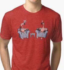 Boston Legal Flamingos  Tri-blend T-Shirt