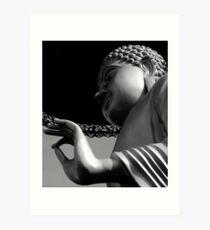 Vitarka Mudra- The Hand of Buddha Art Print