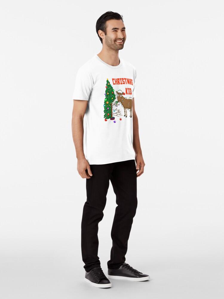 Alternate view of The Christmas Kid! Premium T-Shirt