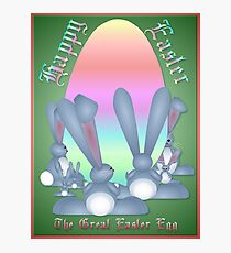 The Great Easter Egg Photographic Print