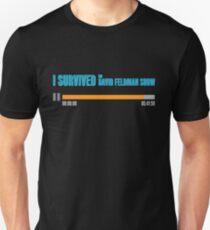 I Survived The David Feldman Show Slim Fit T-Shirt