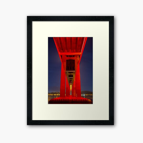 Red Tasman Framed Art Print