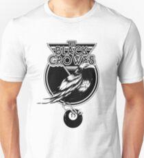 crowes bird black billiard tour 2019 2020 berantakin Slim Fit T-Shirt