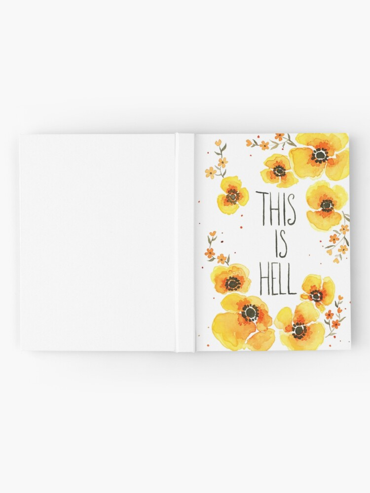Alternate view of This is Hell Hardcover Journal