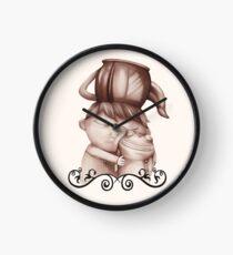 Greg cuddling his frog - Over the Garden Wall fan art by Lavinia Knight / art official sweetener  Clock