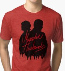 Murder Husbands [Black/Red] Tri-blend T-Shirt