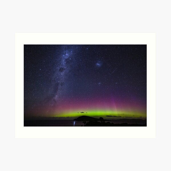 Aurora Australis From South Arm Art Print