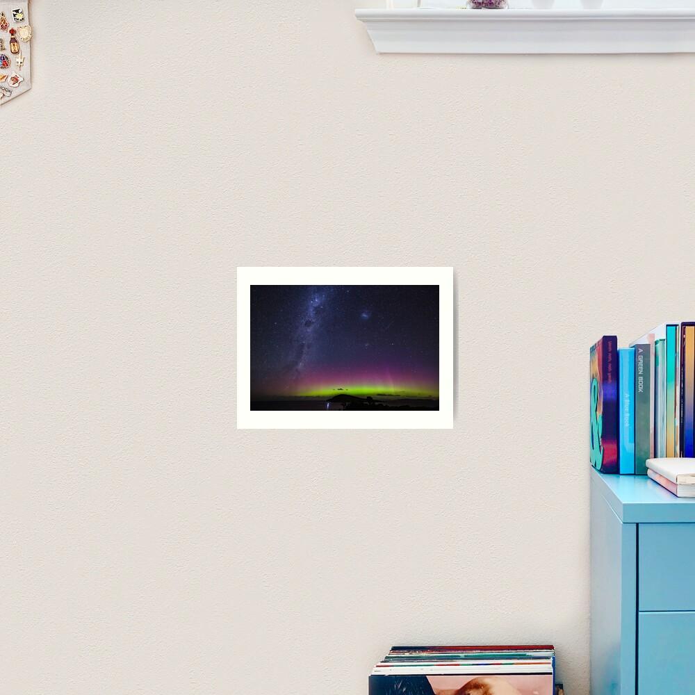 Aurora Australis From South Arm Art Print