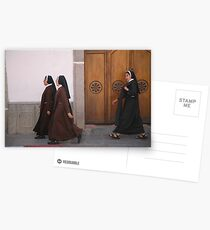 Nuns on the march Postcards