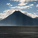 Lago Atitlan Volcano by Paul McSherry