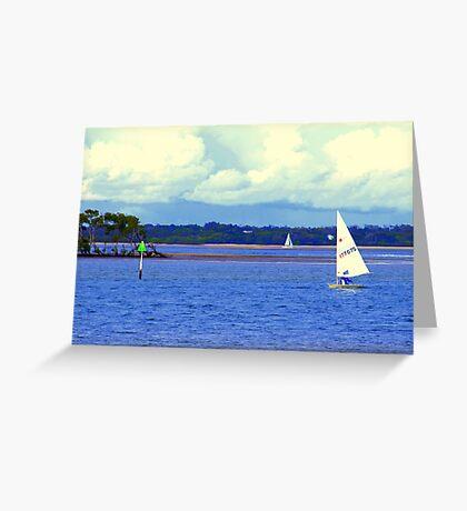 Sailing Paradise Point  Greeting Card