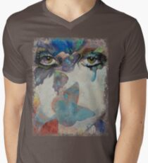 Gothic Butterflies Men's V-Neck T-Shirt