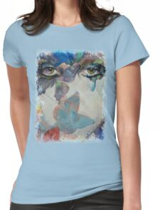 Gothic Butterflies Womens Fitted T-Shirt