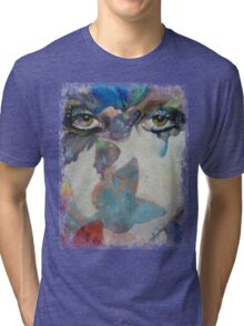 Gothic Butterflies Tri-blend T-Shirt