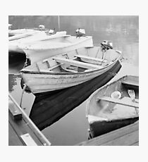 SKIFFS - Rolleicord 120 film camera Photographic Print