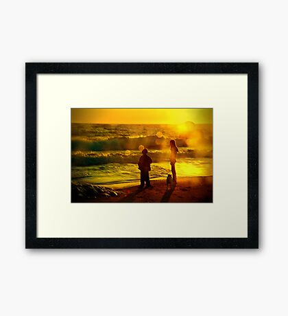 Warm Summer Memories Framed Print