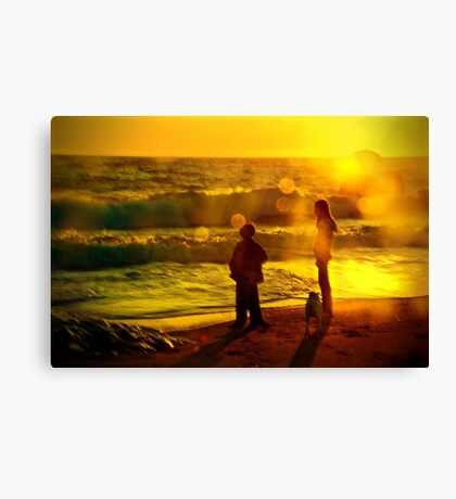 Warm Summer Memories Canvas Print