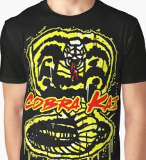 Cobra Kai Graffiti Style Design Graphic T-Shirt