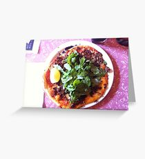 Pizza Agnello Greeting Card