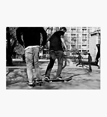 Skateboarders Photographic Print