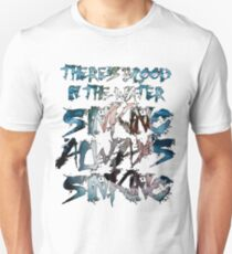 There's Blood in the Water T-Shirt