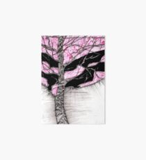 A tree in a storm - faith and truth Art Board Print