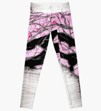 A tree in a storm - faith and truth Leggings
