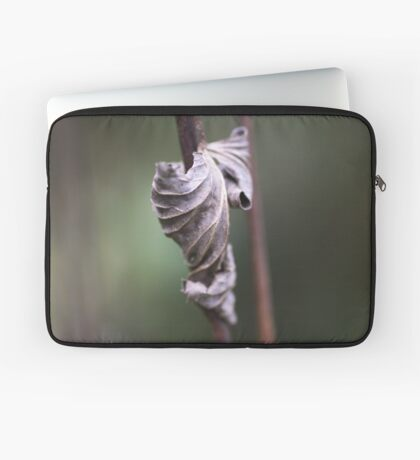 See the Beauty in a Dead Leaf Laptop Sleeve