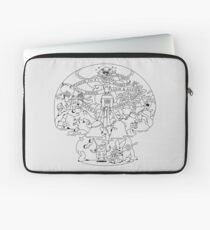 Come along with me outline version - Adventure Time Laptop Sleeve