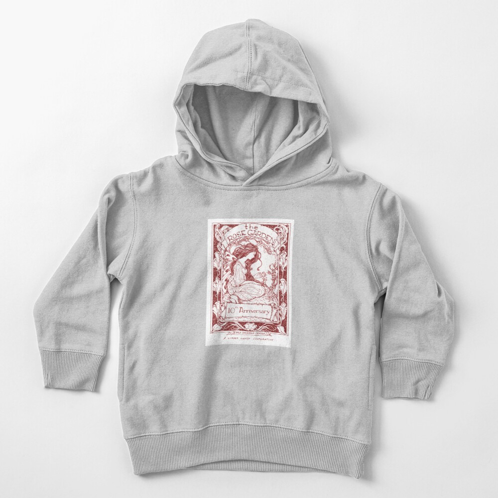 rose garden red Toddler Pullover Hoodie