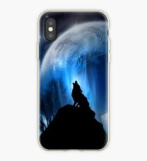 Wolf In The Night Iphone Case iPhone Case