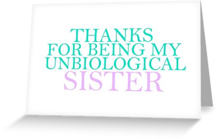 Unbiological Sister by thecrazyones