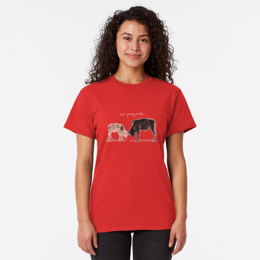 Two young Bulls Classic T-Shirt