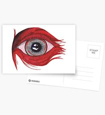 The red eye - faith and truth Postcards