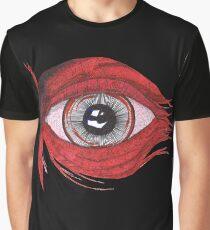 Das rote Auge Grafik T-Shirt