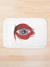 Das rote Auge - Glaube und Wahrheit Badematte