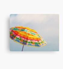 Un verano naranja Canvas Print